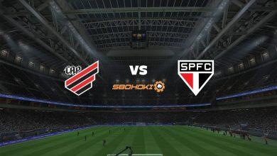 Photo of Live Streaming  Athletico-PR vs São Paulo 7 Agustus 2021