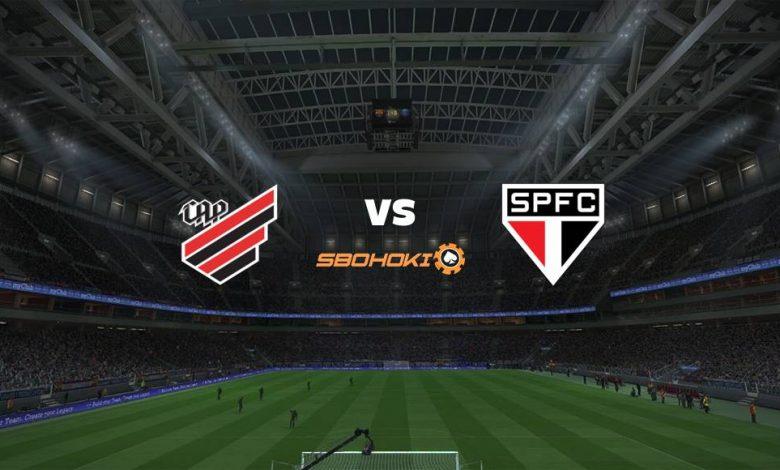 Live Streaming  Athletico-PR vs São Paulo 7 Agustus 2021 1
