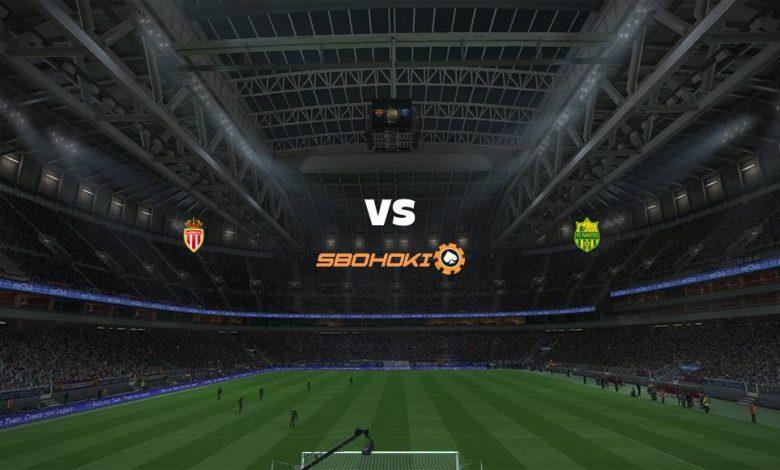 Live Streaming  AS Monaco vs Nantes 6 Agustus 2021 1