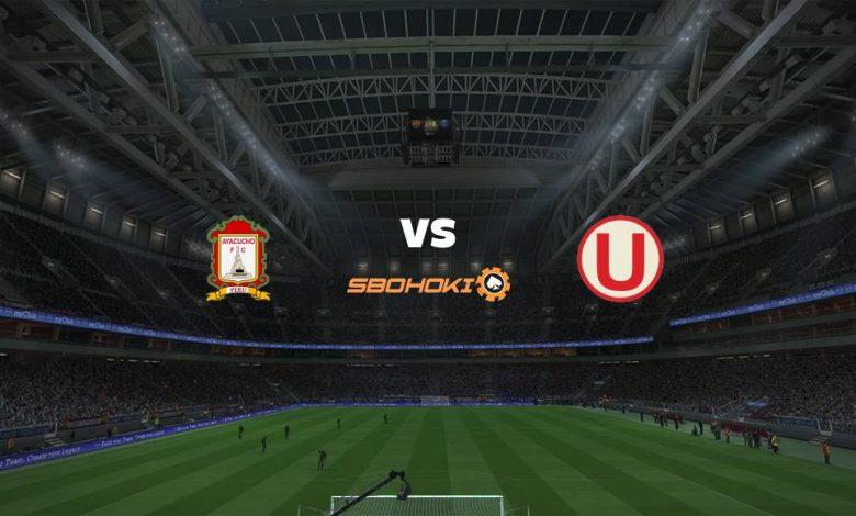 Live Streaming  Ayacucho FC vs Universitario 14 Agustus 2021 1