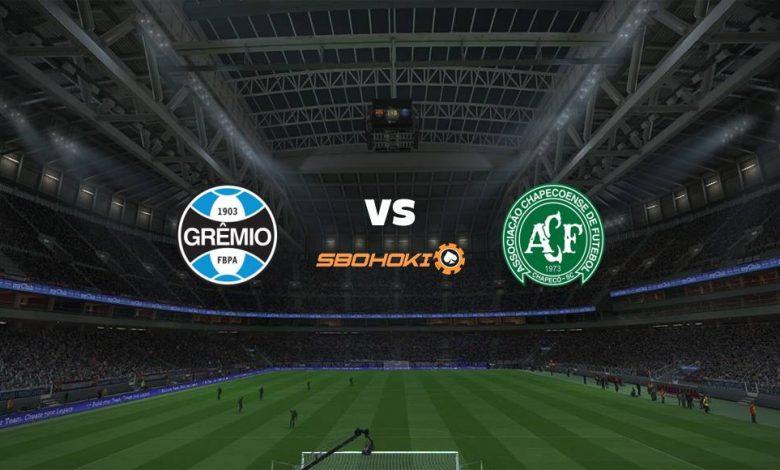Live Streaming  Grêmio vs Chapecoense 9 Agustus 2021 1