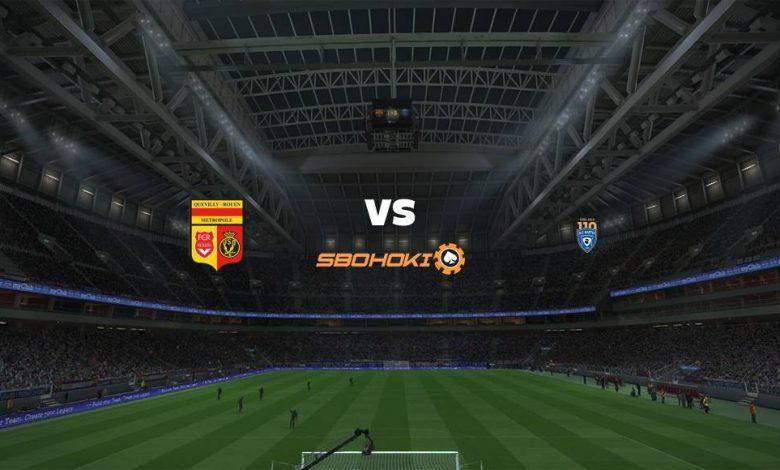 Live Streaming  US Quevilly vs Bastia 18 Agustus 2021 1
