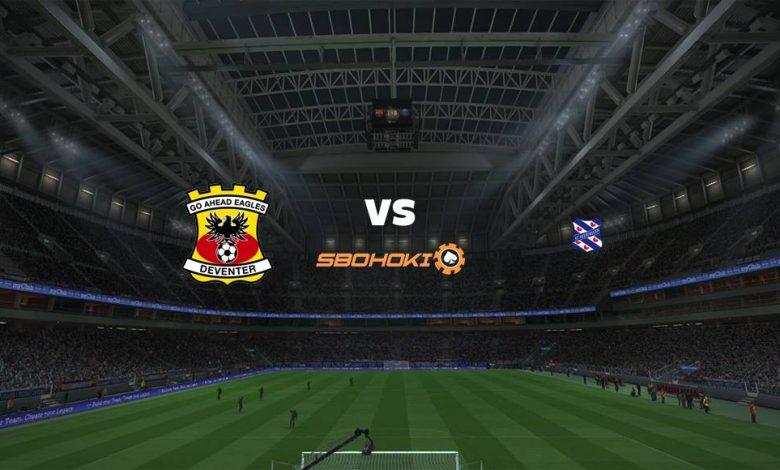 Live Streaming  Go Ahead Eagles vs Heerenveen 13 Agustus 2021 1