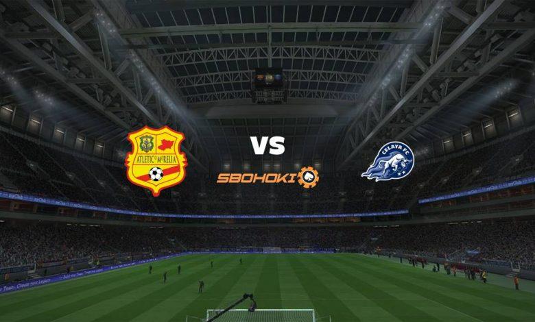 Live Streaming  Atlético Morelia vs Celaya 10 Agustus 2021 1