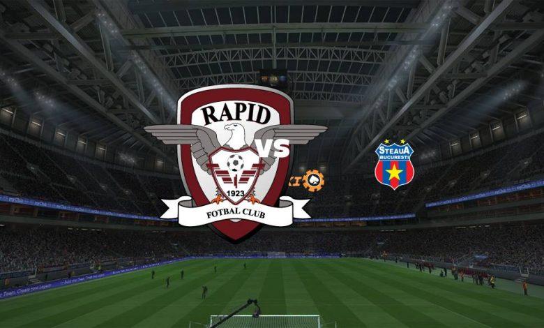 Live Streaming  Rapid Bucuresti vs FCSB 15 Agustus 2021 1