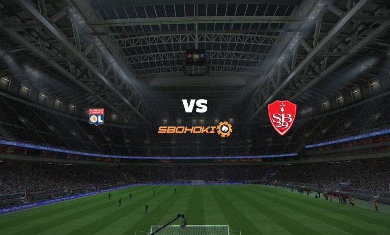 Live Streaming  Lyon vs Brest 7 Agustus 2021 1