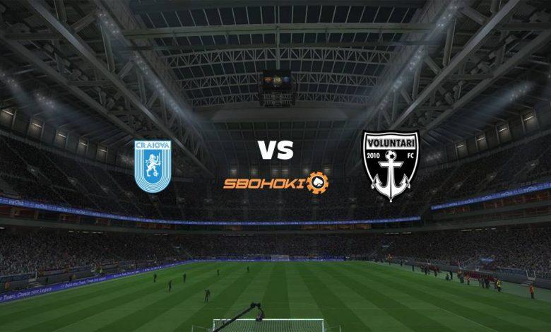 Live Streaming  Universitatea Craiova vs Voluntari 9 Agustus 2021 1