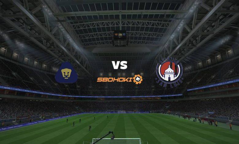 Live Streaming  Pumas UNAM vs Atlético San Luis 8 Agustus 2021 1
