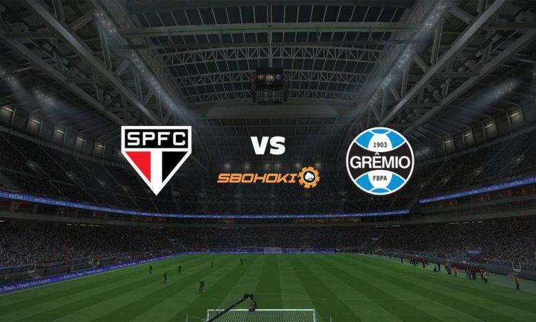 Live Streaming  São Paulo vs Grêmio 15 Agustus 2021 1