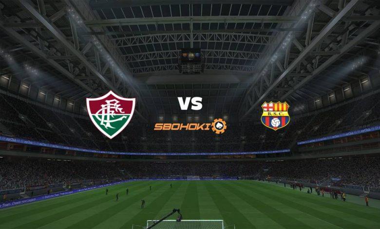Live Streaming  Fluminense vs Barcelona SC 13 Agustus 2021 1