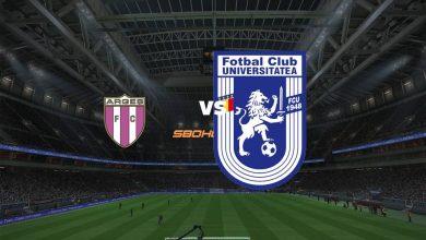Photo of Live Streaming  FC Arges vs U Craiova 1948 11 September 2021