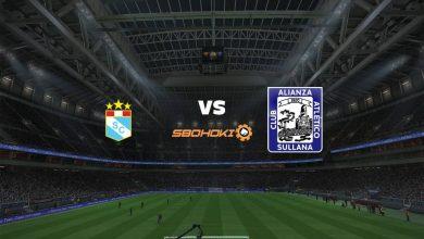 Photo of Live Streaming  Sporting Cristal vs Alianza Atlético 12 September 2021