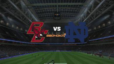 Photo of Live Streaming  Boston College vs Notre Dame 10 September 2021