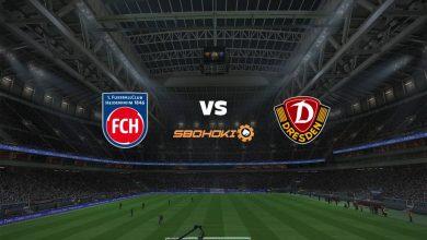 Photo of Live Streaming  1. FC Heidenheim vs Dynamo Dresden 12 September 2021