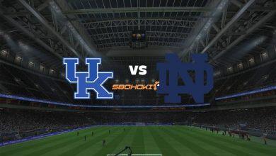 Photo of Live Streaming  Kentucky vs Notre Dame 3 September 2021