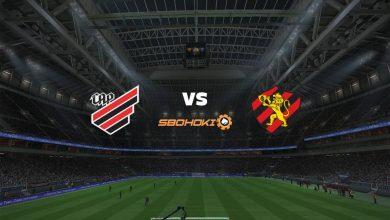Photo of Live Streaming  Athletico-PR vs Sport 5 September 2021